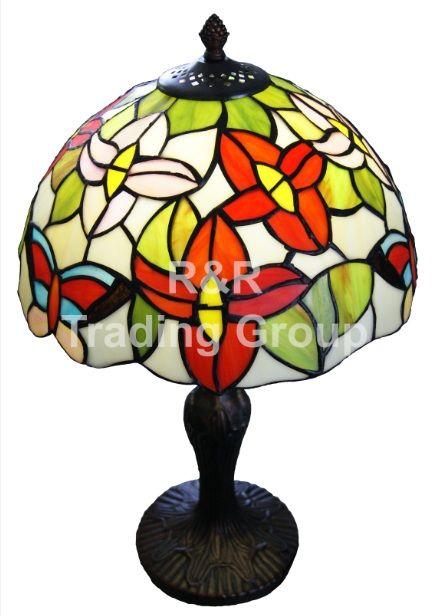 Lampa birou TIFFANY Flowers