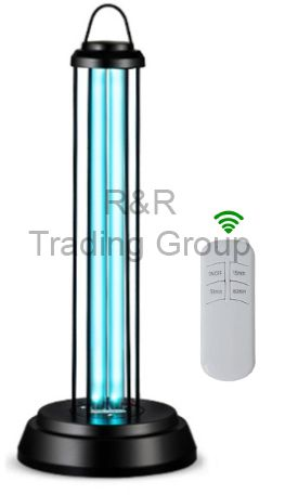 LAMPA UV 38W CU OZONIFICARE BLACK
