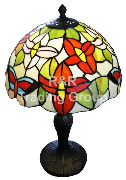 Lampa birou TIFFANY Flowers