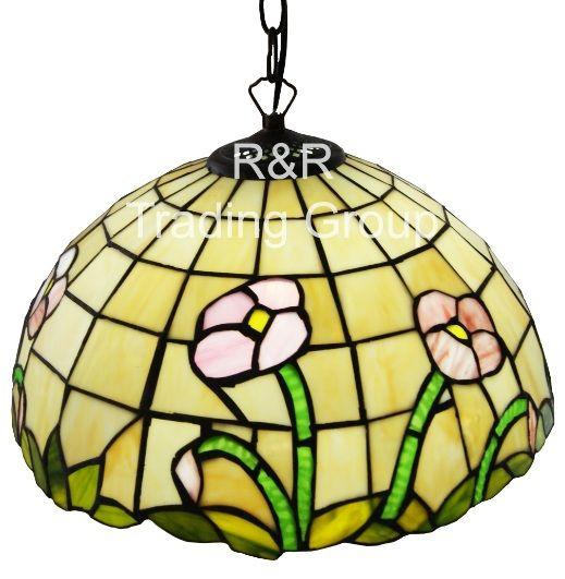 Lustra Tiffany Spring pendul